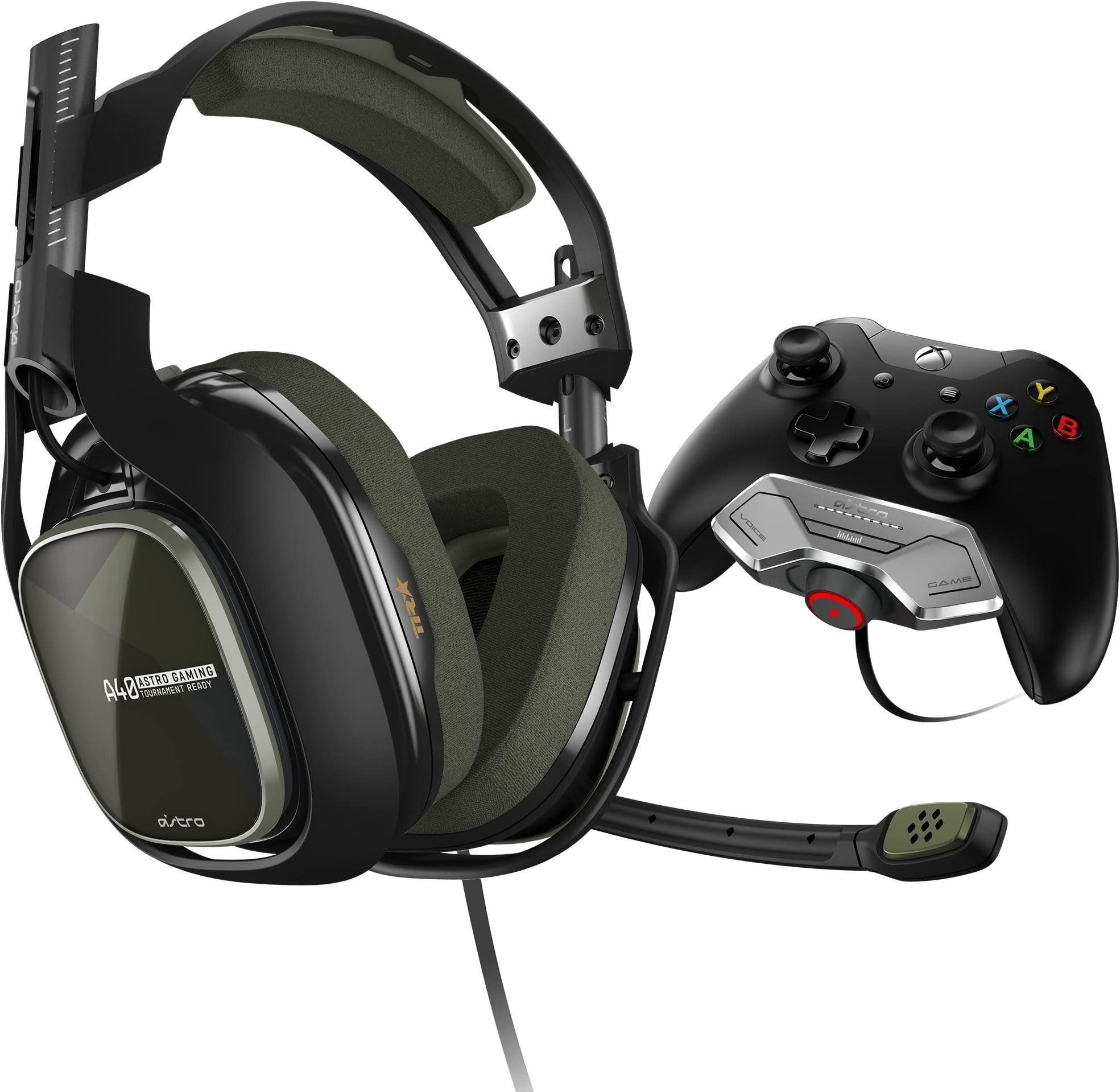 Amazon.com: ASTRO Gaming A40 TR Headset + MixAmp M80 - Black/Olive ...
