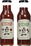 Sir Kensington Variety Set: Classic Ketchup & Spiced Ketchup, 14 Oz. Bottles [1 of Each]