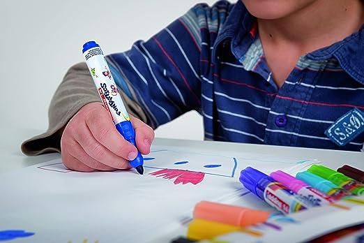 edding 14 Funtastic Fasermaler 10 Stück Stärke 3mm bunte Farben  malen Karten