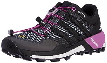 adidas Damen Trekkingschuhe TERREX BOOST vista grey s15/core black ...