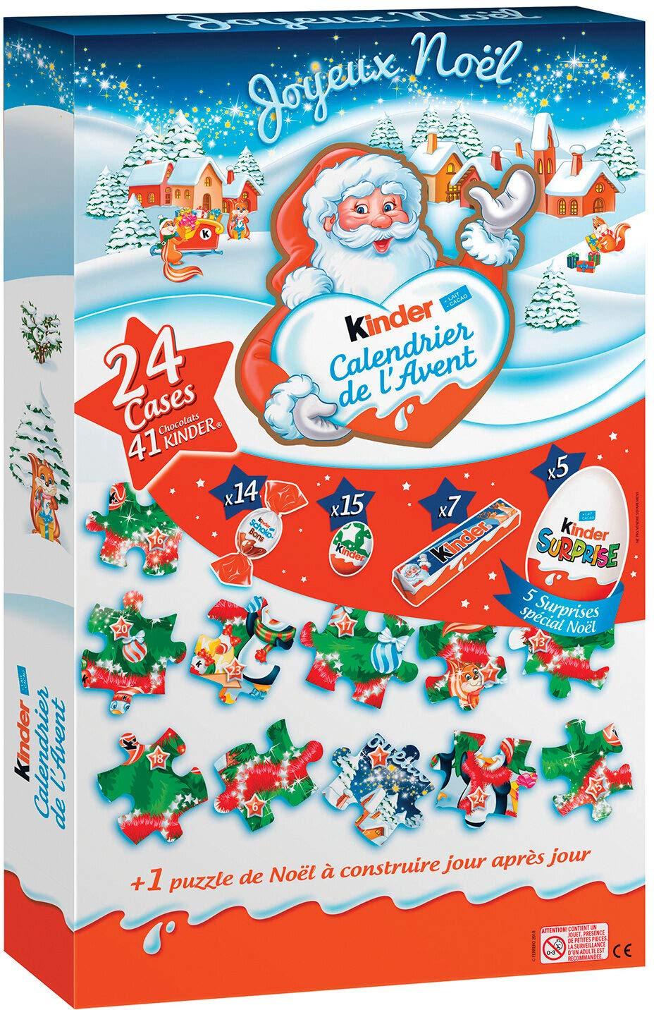 da Ferrero Kinder//Ferrero Calendario DellAvvento Kinder Maxi Puzzle 343 G