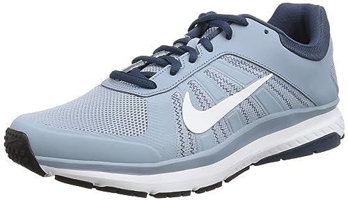 Nike Dart 12, Zapatillas de Running para Hombre, Azul (Blue Grey/White-Sqdrn Bl-Cncrd), 43 EU: Amazon.es: Zapatos y complementos