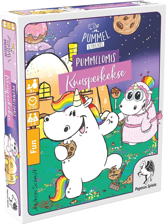 Pegasus Spiele 20035G Pummel & Friends Pummelomis Knusperkekse - Juego de Mesa: Amazon.es: Juguetes y juegos