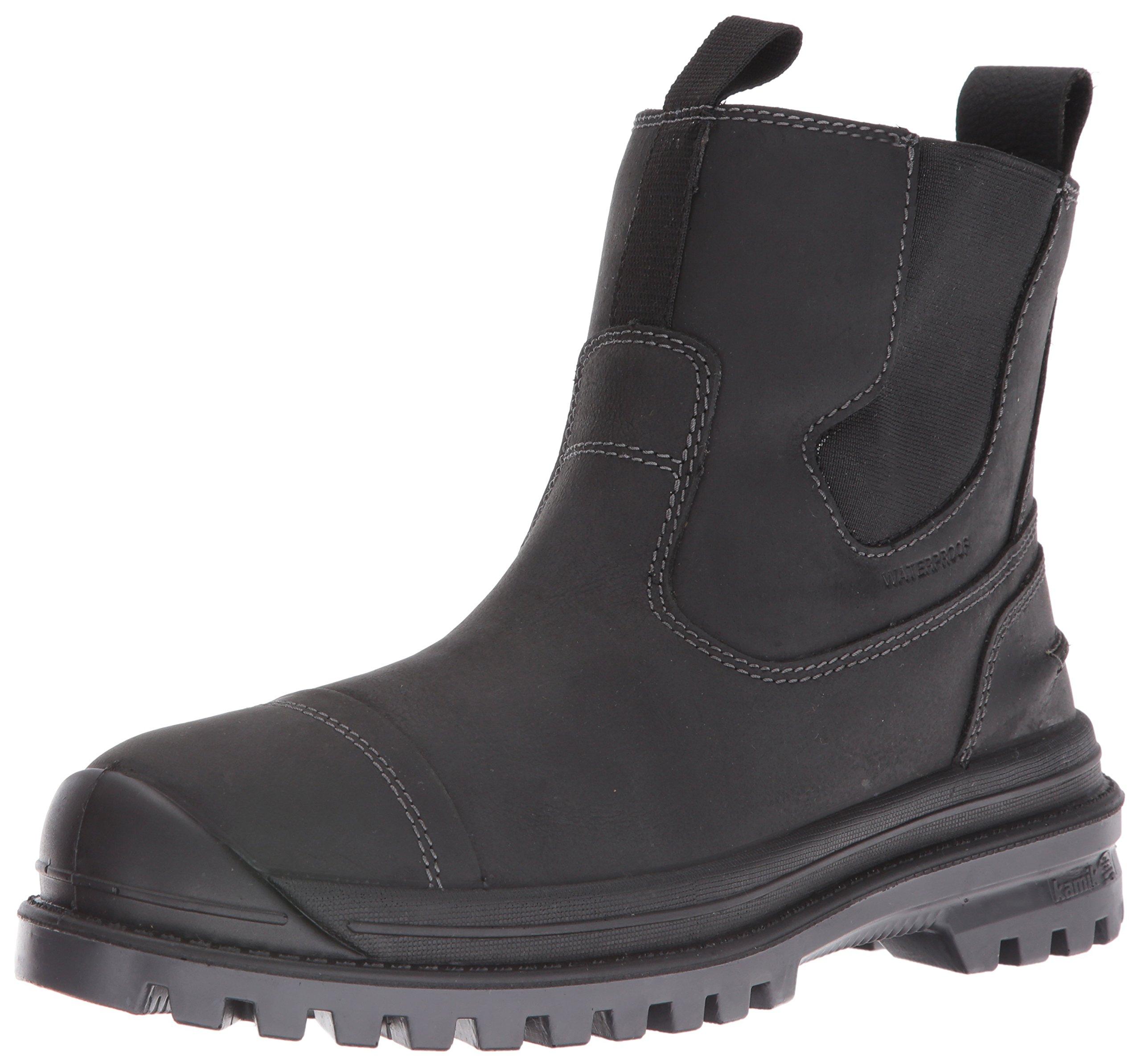 Kamik Men's Griffonc Snow Boot, Black, 11 M US