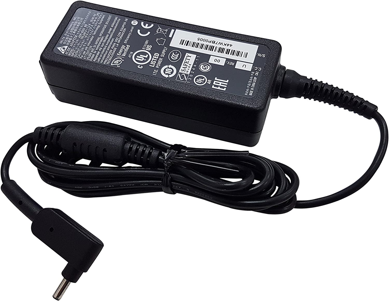 "Delta Electronics Laptop Charger for Acer Chromebook C732LT-C2NH CB3-532-108H CB3-532-C47C CB3-532-C968 Spin SP314-53N Swift SF314-56 Packard Bell Cloudbook Pro 11.6"" 14.5"" 19V 2.37A 45W Adapter"
