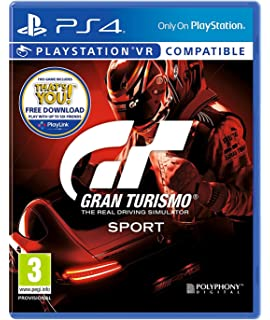 Gran Turismo Sport PS4 PSVR Compatible UK IMPORT REGION FREE
