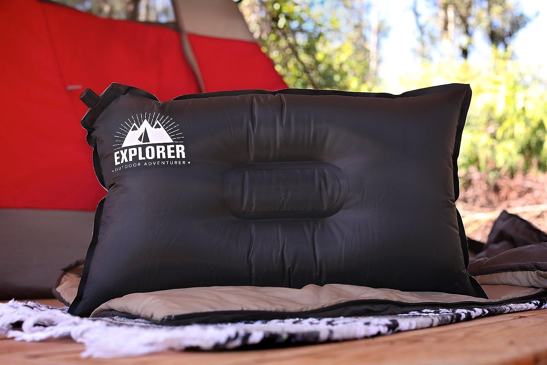 Outdoor Adventurer Camping Pillow Travel Inflatable Pillow e225489ad