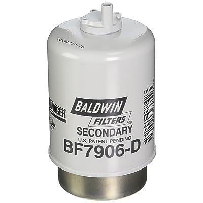 Baldwin Heavy Duty BF7906-D Fuel Filter,5-31/32 x 3-9/32 x 5-31/32In: Automotive