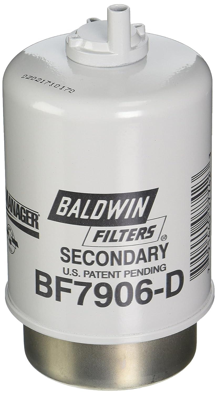 Baldwin Heavy Duty BF7906-D Fuel Filter, 5-31/32 x 3-9/32 x 5-31/32In