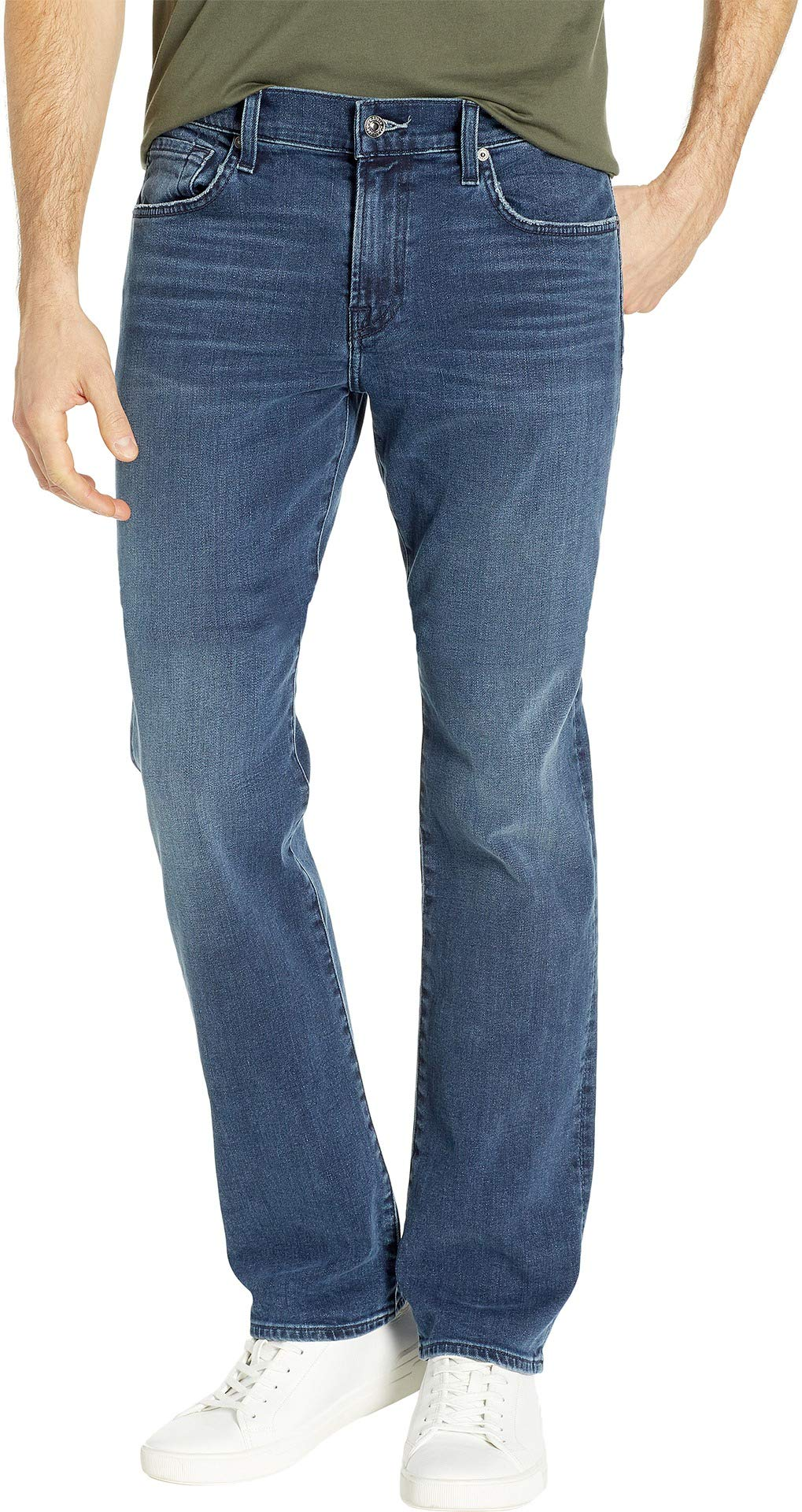 7 For All Mankind Men's Slimmy Slim Straight Luxe Performance/Invincible 29 34