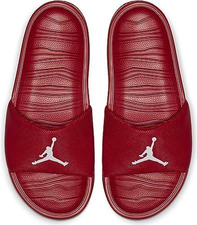 Nike Jordan Break Slides - Chanclas para hombre, color Rojo, talla 49.5 EU