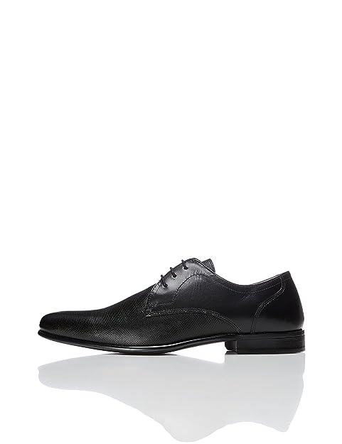 Find Zapatillas de Cuero para Hombre, Negro (Black), 45 EU