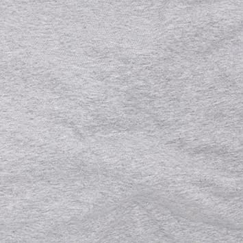 10caf72d432 Image Unavailable. Image not available for. Color: TELIO 0590106 Organic  Melange Cotton Jersey Knit Grey Fabric ...