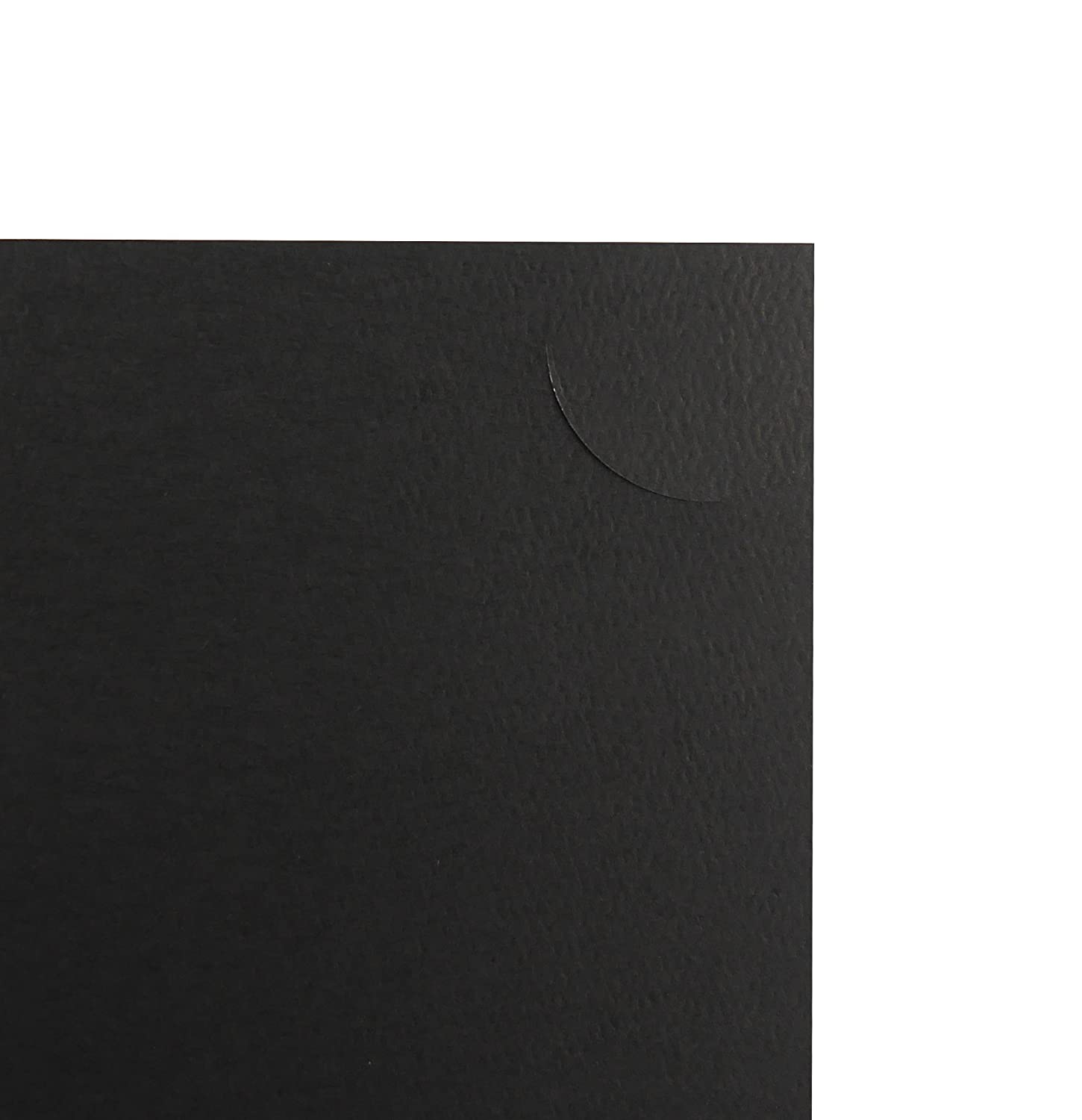 Pack of 10 PF061 Black with Gold Lining Golden State Art Cardboard Photo Folder For a 8.5x11 Photo