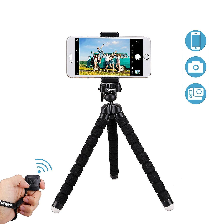 Fotopro Trípode Flexible Mini Trípode para Teléfono Móvil iPhone Samsung y otro