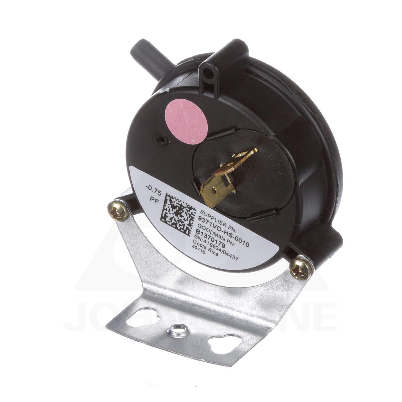 Goodman B1370179 75' WC Pressure Switch Inducer