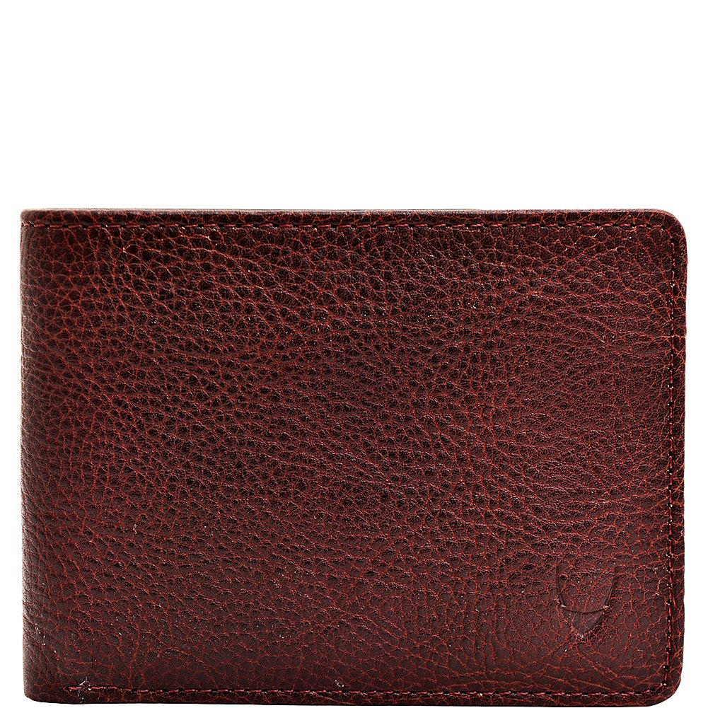 HIDESIGN Giles Vegetable Tanned Leather Trifold Wallet with Multiple