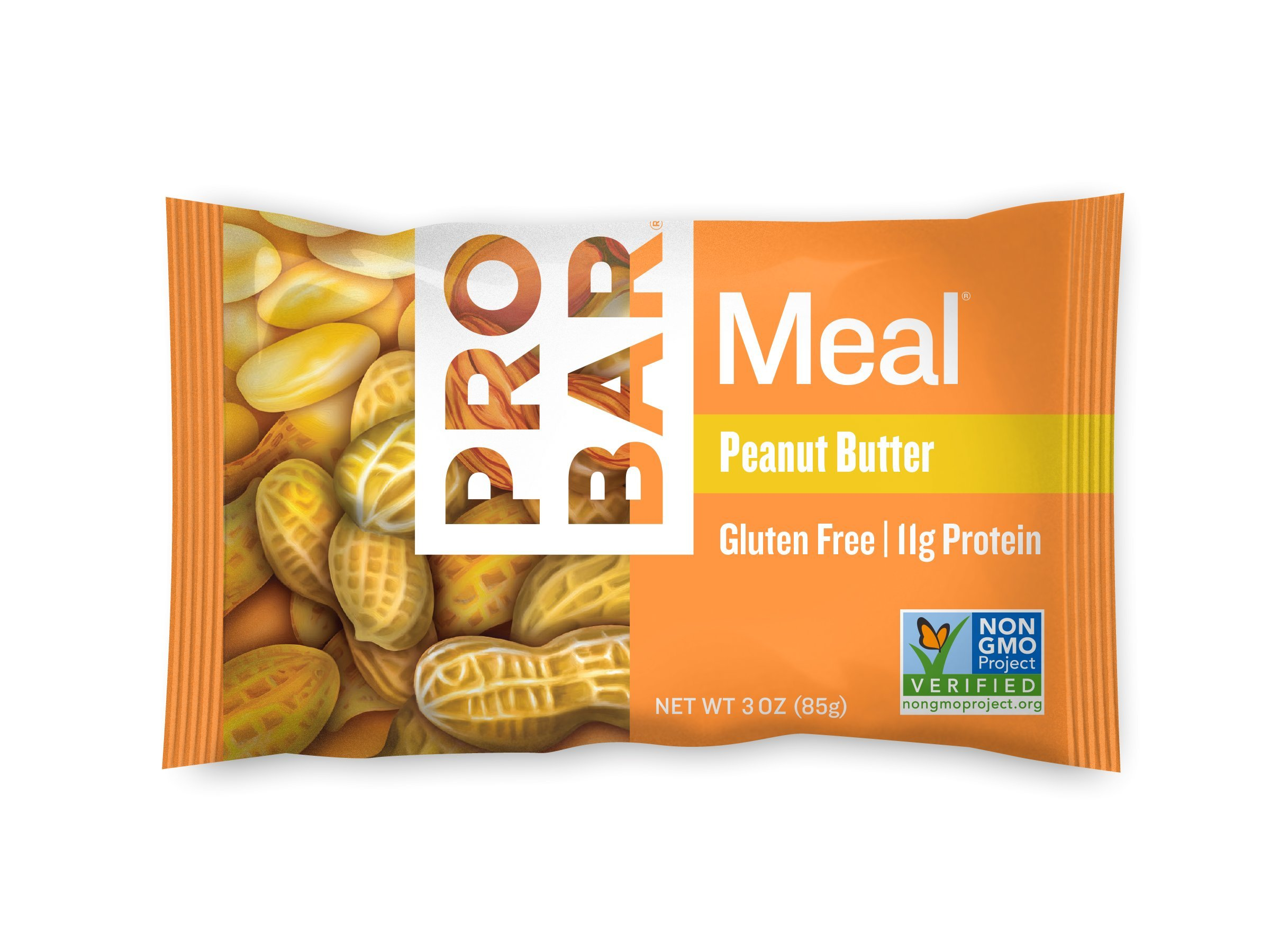 PROBAR - Meal Bar, Peanut Butter, 3 Oz, 12 Count - Plant-Based Whole Food Ingredients by Probar