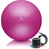 BODYMATE Swiss Ball - Gymnastiekbal met gratis e-book incl. Pomp - Fitness Yoga Core