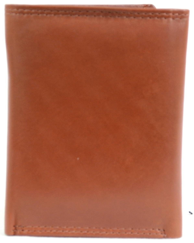 6ecd982d7ffd Men s Soft Leather Tri-Fold Wallet (Tan)  Amazon.co.uk  Shoes   Bags