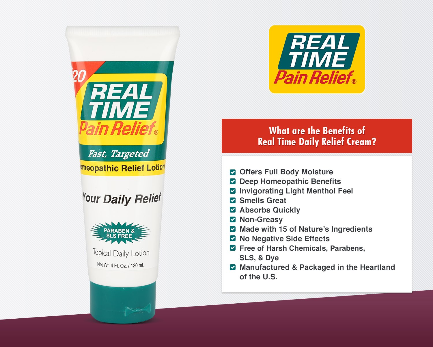 Real Time Pain Relief Stay Active Pack, Sports Cream, Daily Relief, MAXX Relief, 10 Pain Cream Travel Packs by Real Time Pain Relief (Image #8)