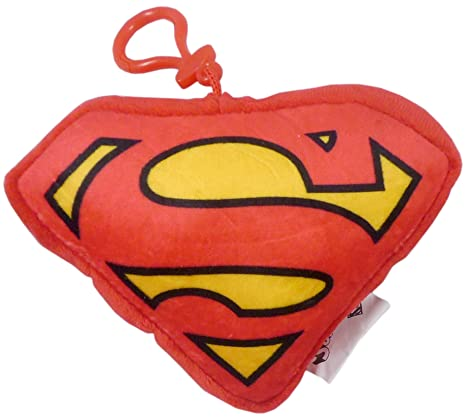 DC Comics 5 Pulgadas Logo Superman Clip del Bolso - Llavero ...