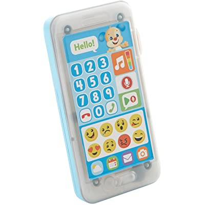 Fisher-Price Laugh & Learn Leave A Message Smart Phone, Puppy: Toys & Games