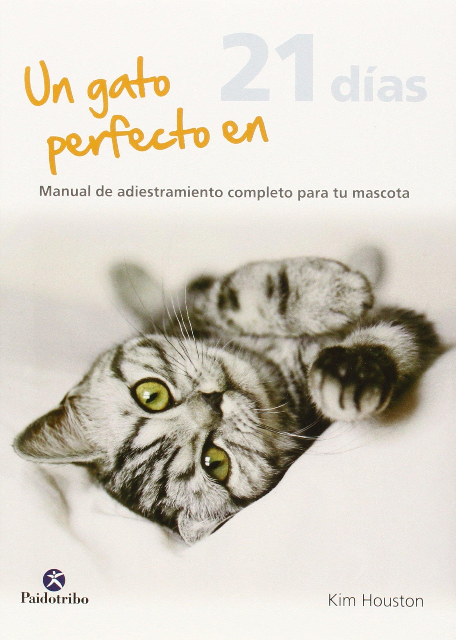 Un gato perfecto en 21 días (Spanish) Hardcover – 2013