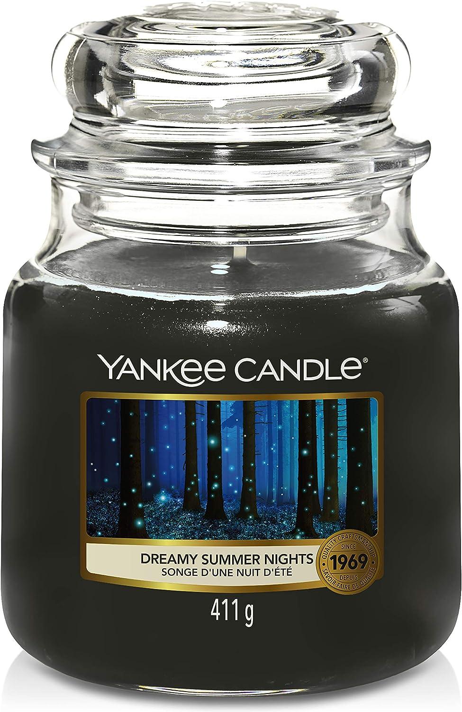 Yankee Candle Medium Jar Candle, Dreamy Summer Nights