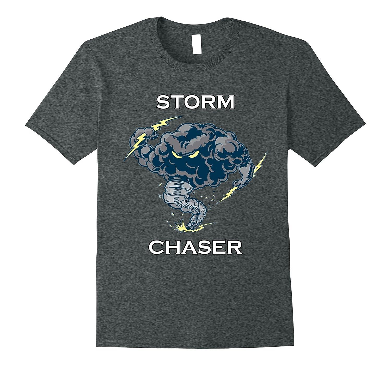 Storm Chaser Tornado Electric Lightning Weather T-Shirt-FL