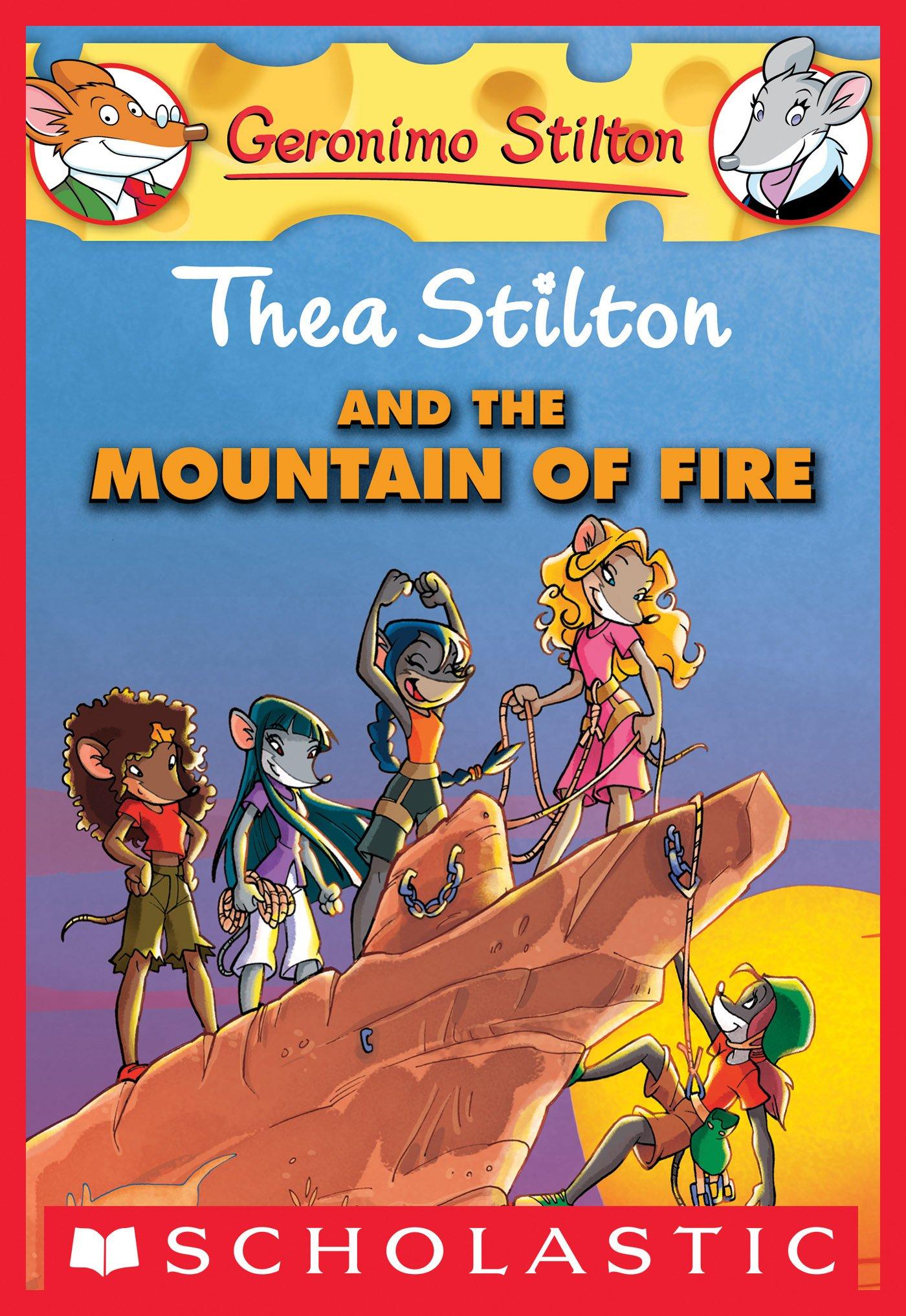 Thea Stilton and the Mountain of Fire (Thea Stilton Graphic Novels Book 2) (English Edition)