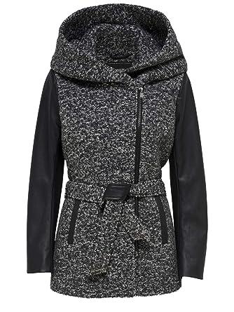 large discount sells the best ONLY Damen Wollmantel Mantel Jacke onlLISFORD Boucle Wool Coat Übergang  Winter