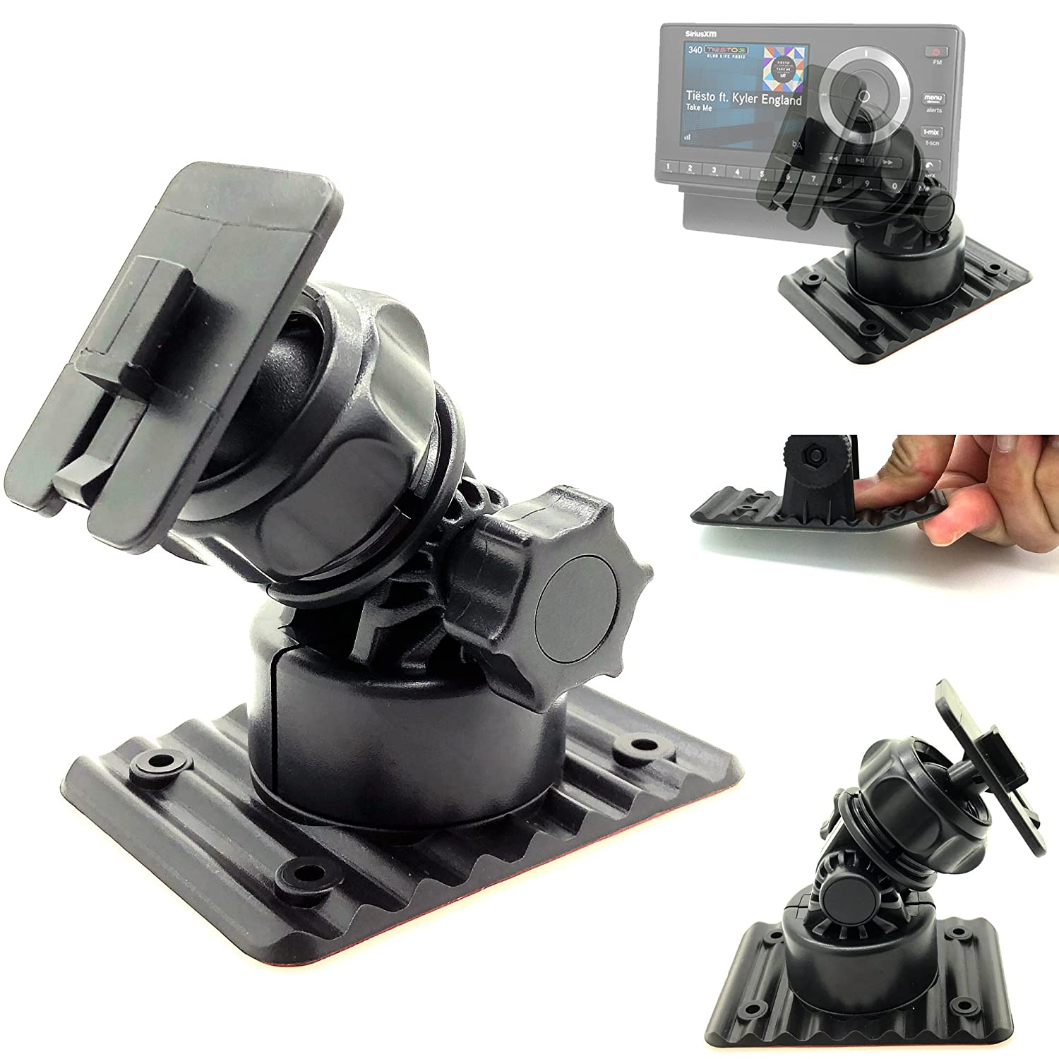 H And S Tuner >> Chargercity Multi Angle Adhesive Dashboard And Console Mount For H S H S Mini Maxx Tuner 40400 102 Auto Tuner Programmer Programming Gauge Monitor