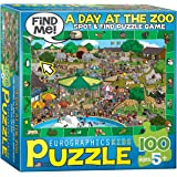 A Day at the Zoo - Spot and Find Puzzle, 100-Piece