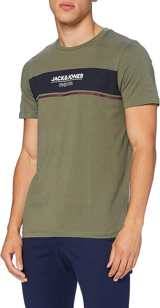 TALLA XL. Jack & Jones Jjshaker tee SS Crew Neck Camiseta para Hombre
