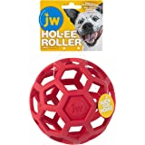 JW Pet Hol-ee Roller Original Do It All Dog Toy Puzzle Ball, Natural Rubber, Assorted Colors, Jumbo