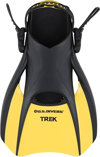 U.S Divers Trek Fin Compact Snorkel Fins for Travel