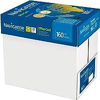 Navigator Office Card Carta Premium per ufficio, Formato A4, 160 gr, Confezione da 5 Risme da 250 Fogli