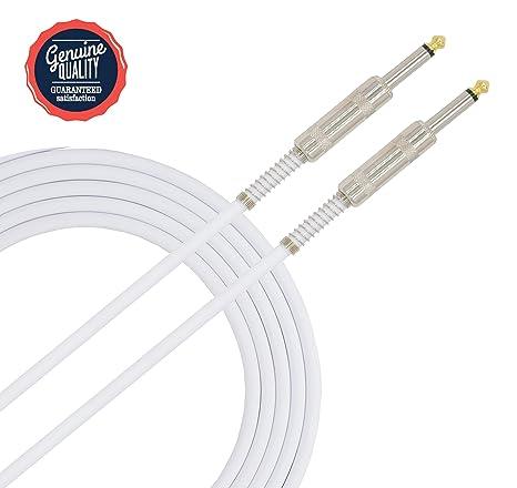 Sonobono Profesional Cable de Nivel de Estudio de grabación, Perfecto para Guitarra Eléctrica, Electroacústica
