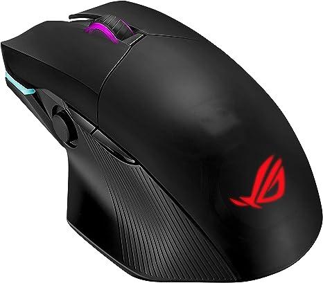 Asus ROG Chakram - Ratón inalámbrico RGB de Gaming (Carga Qi ...