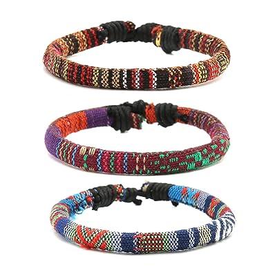 Femme Corde Homme Cuff Adramata Ethnique Wrap Bracelet yn0OPNvwm8