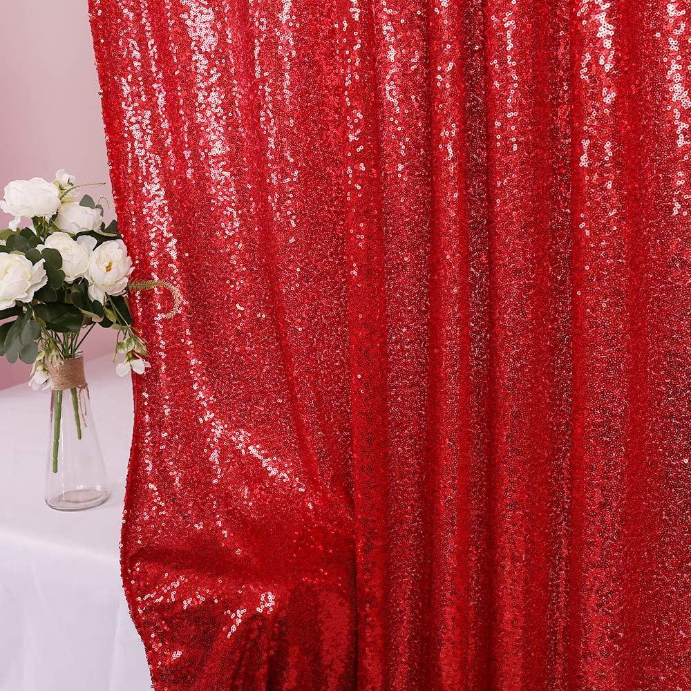 Zdada Purple Shimmer Backdrop-8ftx8ft-Party Photo Backdrop Sparkly Backdrop Curtain-Not Through
