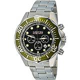 Nautec No Limit - DS-B QZ2/STSTGRBK - Montre Homme - Quartz - Chronographe - Chronomètre - Bracelet Acier Inoxydable Argent