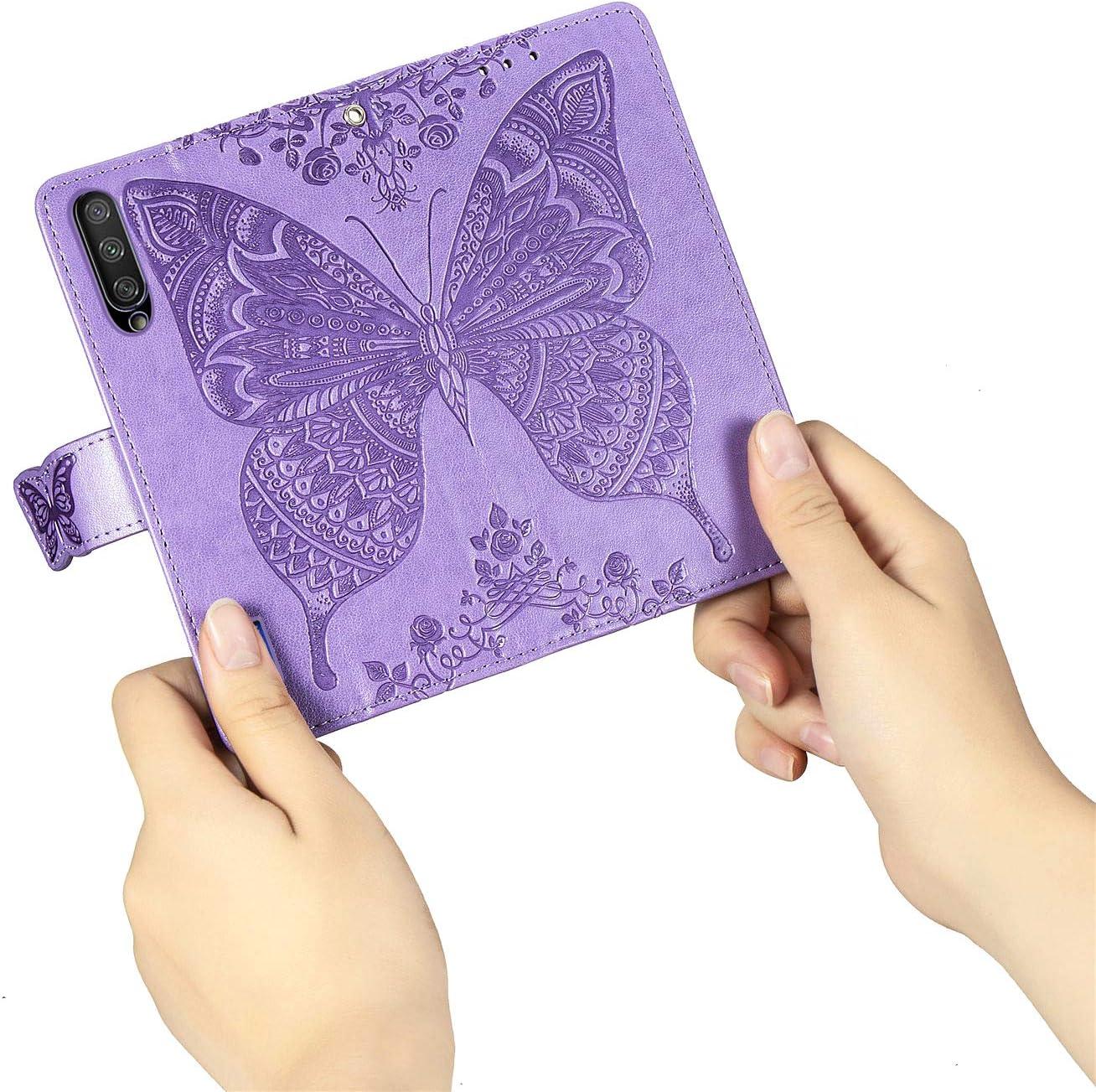 Lomogo Xiaomi Mi 9 Lite Schutzh/ülle Brieftasche mit Kartenfach Klappbar Magnetisch Sto/ßfest Handyh/ülle Case f/ür Xiaomi Mi 9 Lite CC9 H/ülle Leder LOSDA031028 Blau