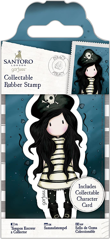 49 Piracy Gorjuss Santoro Rubber Stamp-No
