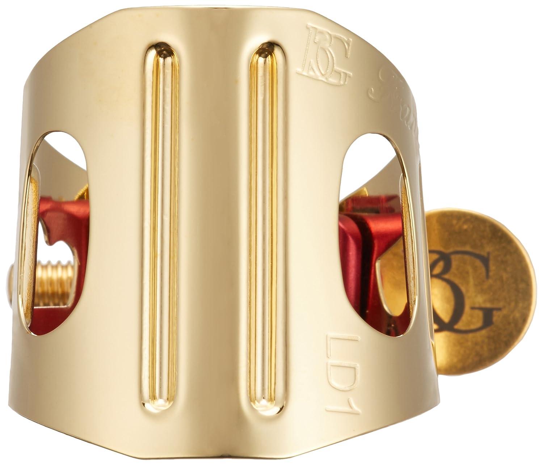 BG DUO リガチャー クラリネット アルトサクソフォーン用 ゴールドプレート LD1   B005DOJFEK