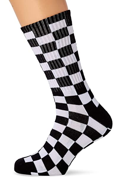 a58644e8a624d4 Vans Checkerboard Crew Socks at Amazon Men s Clothing store