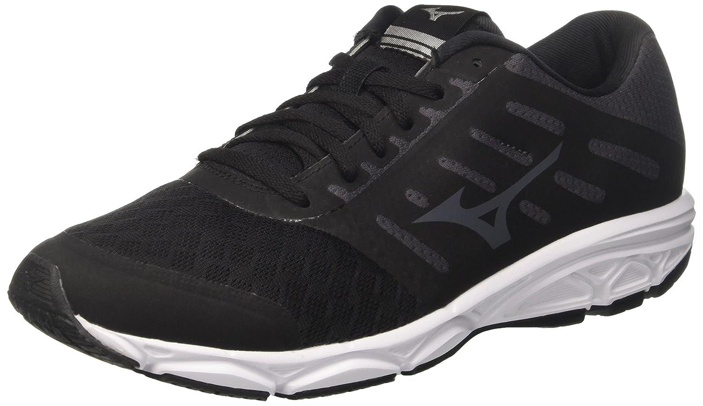 Mizuno Ezrun, Zapatillas de Running para Hombre 47 EU|Negro (Black/Magnet/White 52)