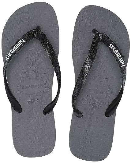 4f15af516 Havaianas Mens Top Logo Filete Flip Flop Sandal  Amazon.ca  Shoes ...