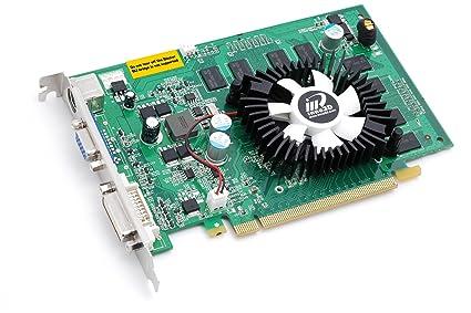 Inno3D nVIDIA GeForce 9400GT tarjeta gráfica, 512MB DDR2 ...